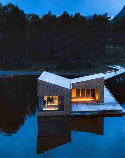 Soria Moria Sauna i Telemark på Østlandet