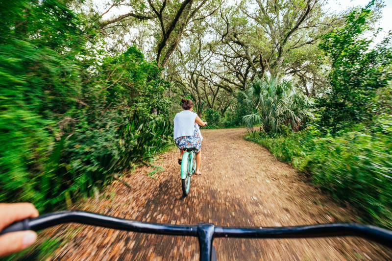 Park Bike Riding, Tree Top Park
