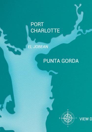 Map Of Port Charlotte Florida.Charlotte Harbor Visitor Information Area Maps Tours
