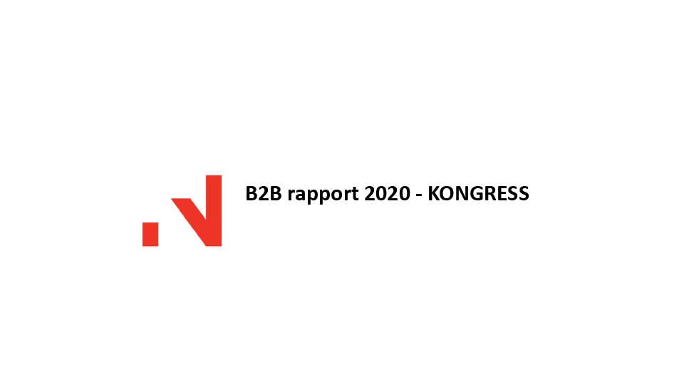 B2B Rapport 2020 Kongress