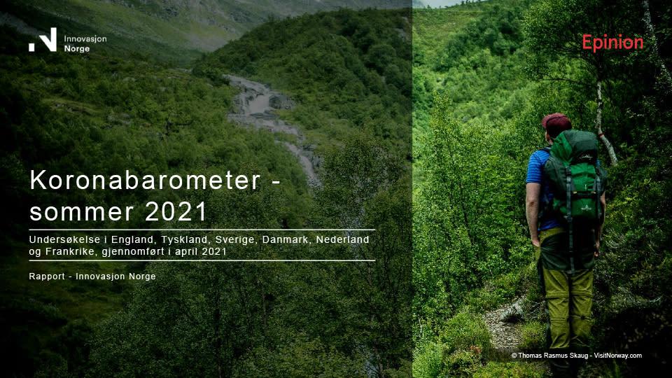 Koronabarometer sommer 2021 internasjonal