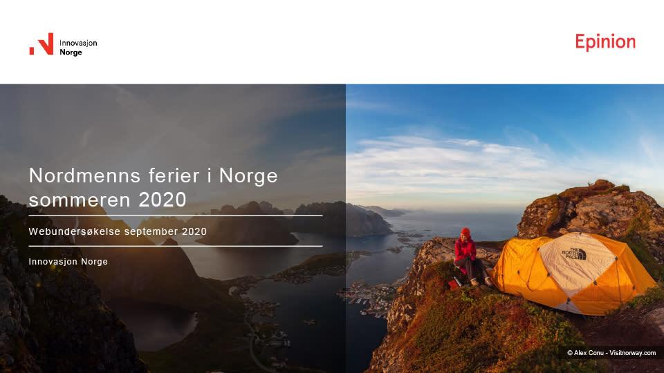Nordmenns ferier i Norge sommeren 2020