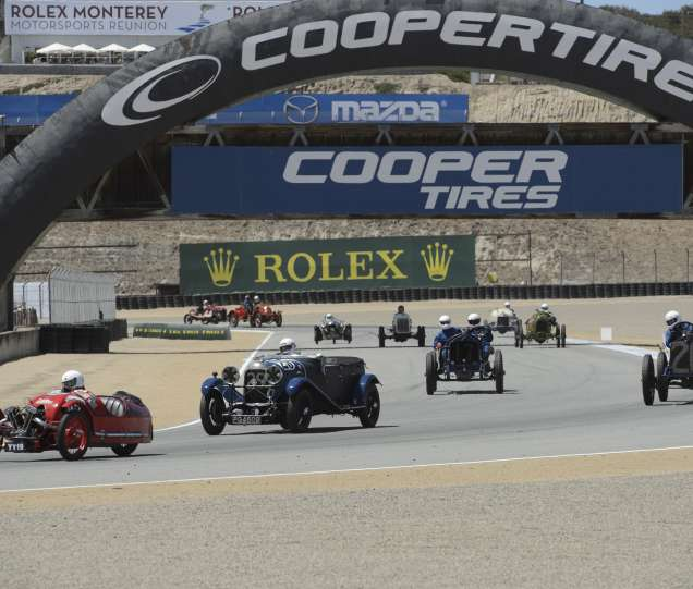 Epic Events During Monterey Car Week - Monterey car show