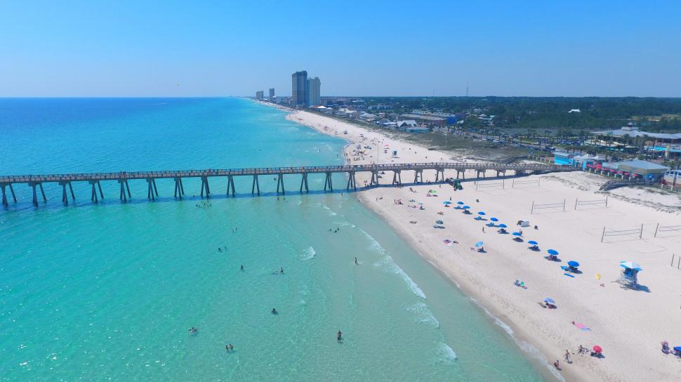 Even If You Can T Be Here In Person Catch A Glimpse Of Panama City Beach From Anywhere The World Check Out White Sand Emerald Green Water