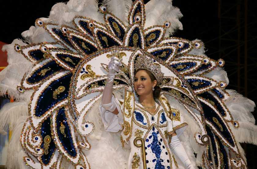 Mardi Gras Krewe Queen