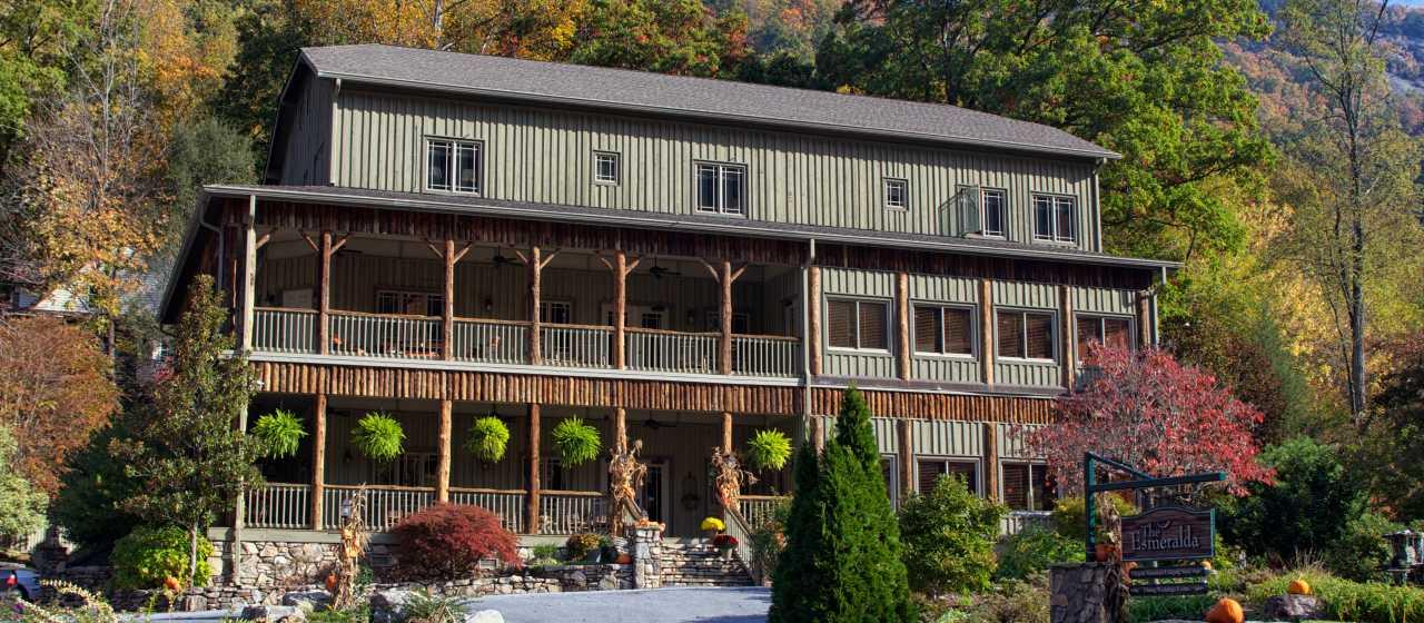 Esmeralda Inn in Chimney Rock, NC}