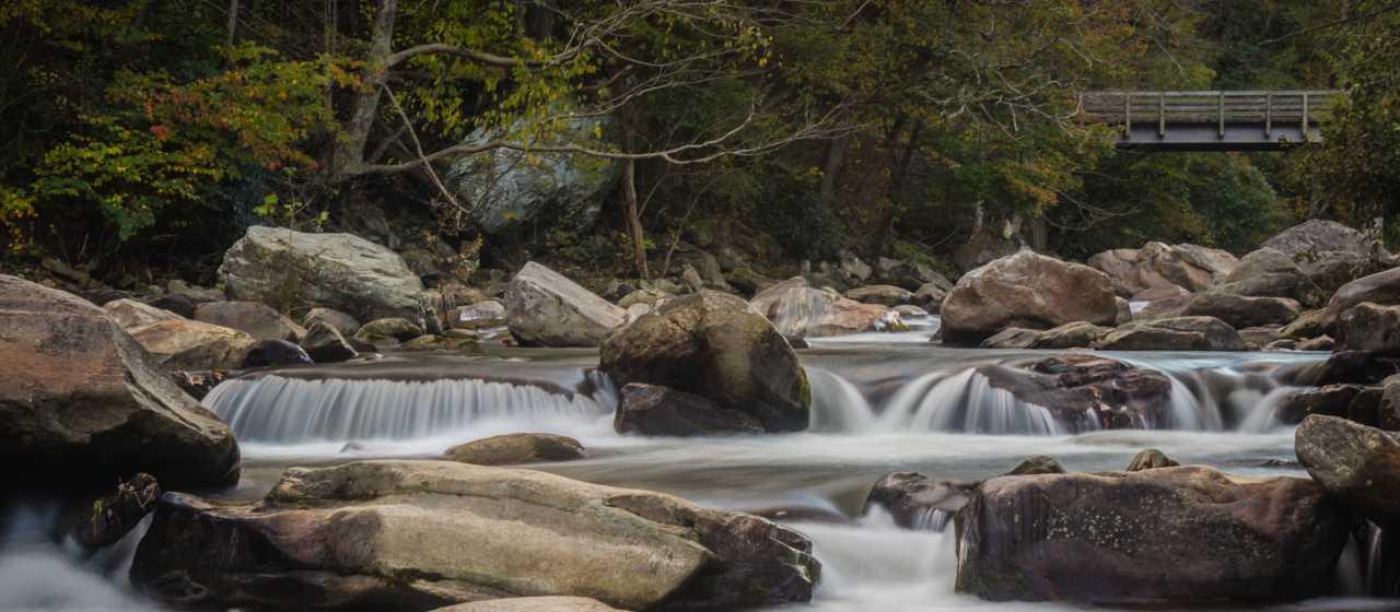 Rocky Broad River, Chimney Rock, NC}