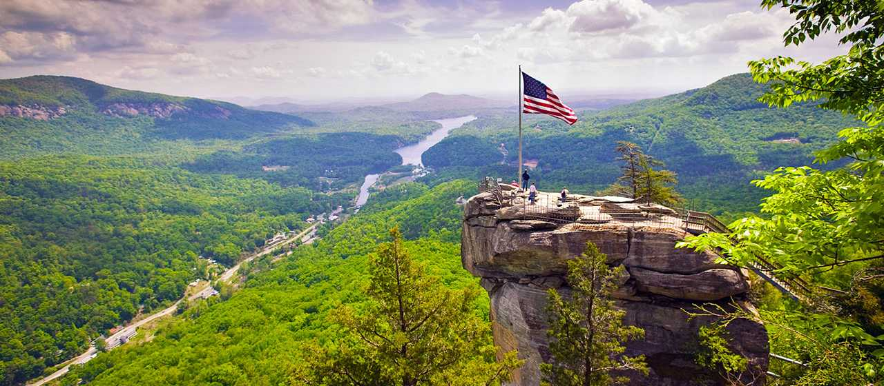 Explore Chimney Rock State Park}