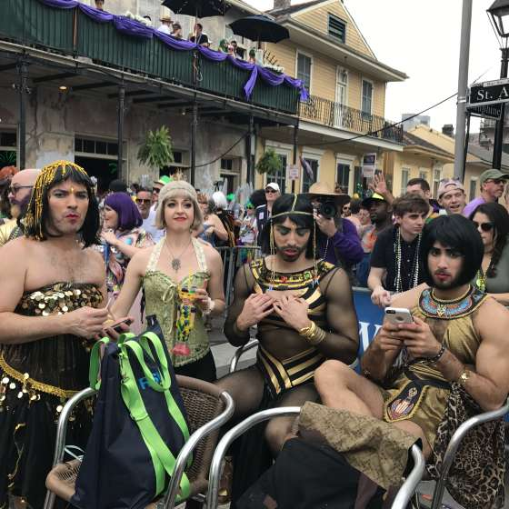 Mardi Gras Bourbon Street Awards