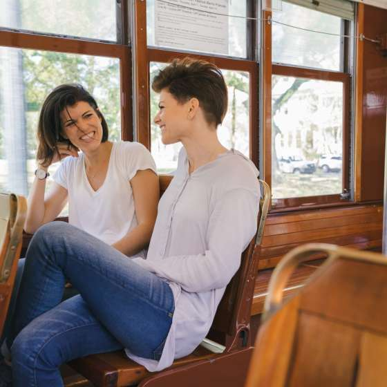 A Ride on the St. Charles Avenue Streetcar