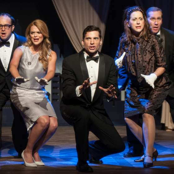 Le Petit Theater- Merrily We Roll Along