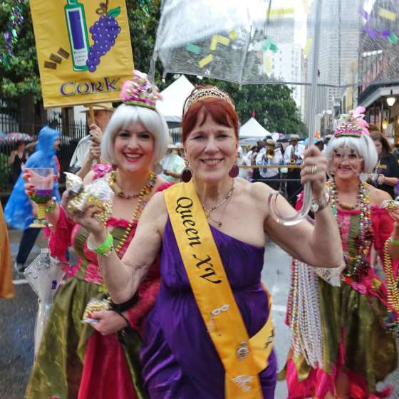 NOWFE - New Orleans Wine and Food Experience 2015 - Royal Street Stroll