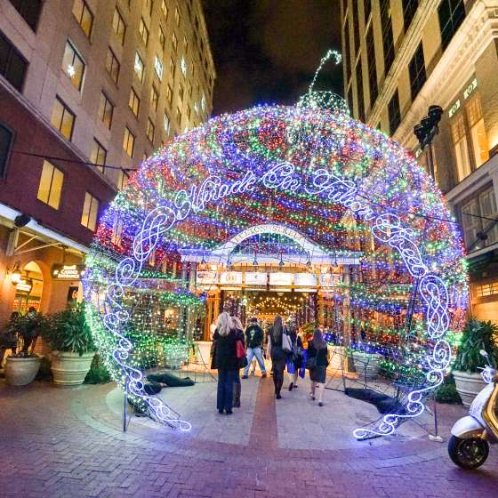 Miracle on Fulton Street - Harrah's