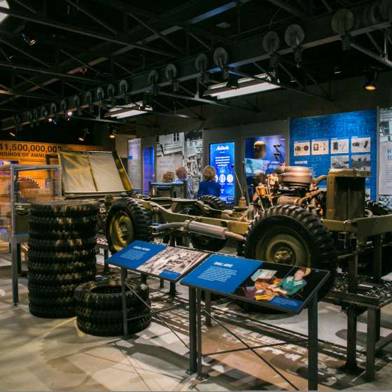 National World War II Museum- The Arsenal of Democracy: The Herman and George Brown Salute to the Home Front