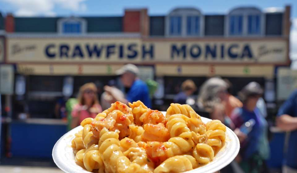 Crawfish Monica, Jazz Fest 2016