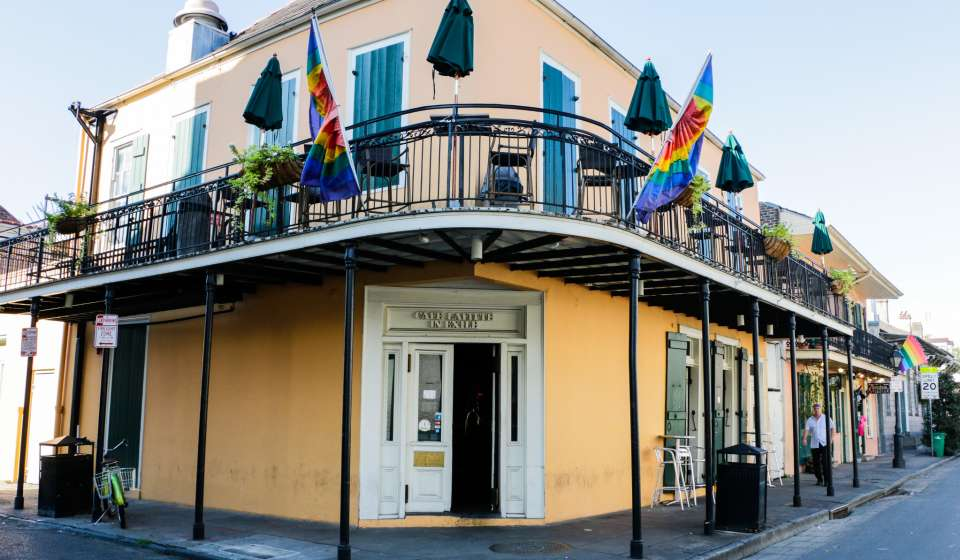 Cafe Lafitte in Exile