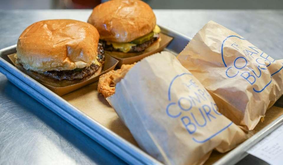 Burgers and Fries at Company Burger