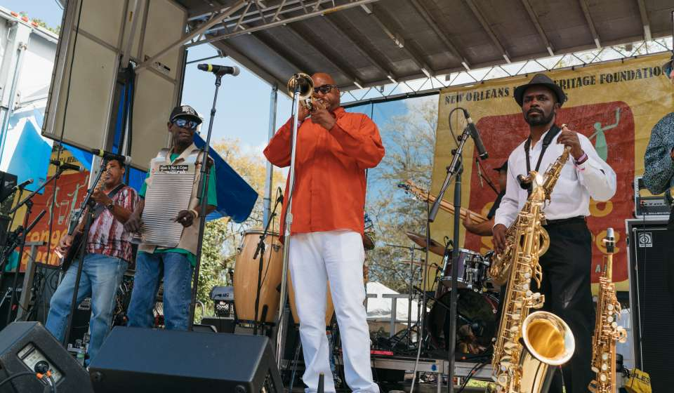 James Andrews and the Crescent City All Stars - Congo Square New World Rhythms Fest