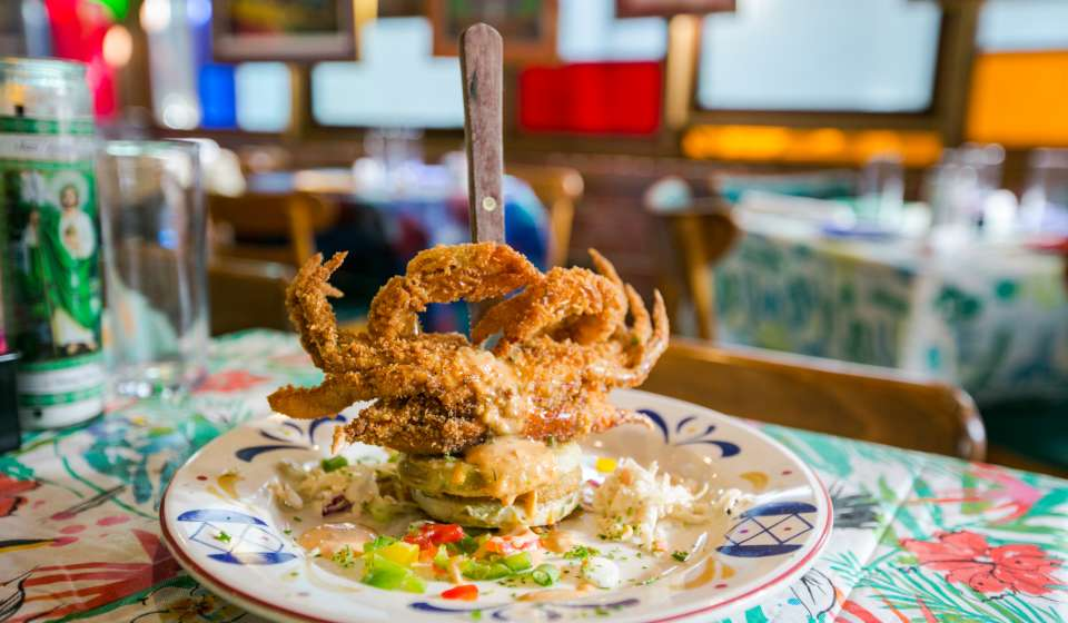 Soft-Shell Crab at Jacques-Imo's