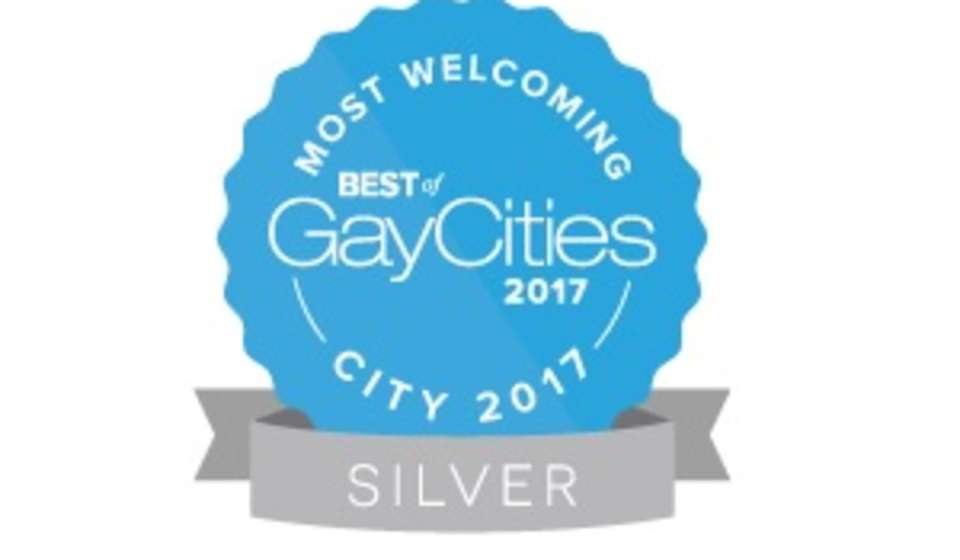 Most Welcoming City 2017 Ribbon