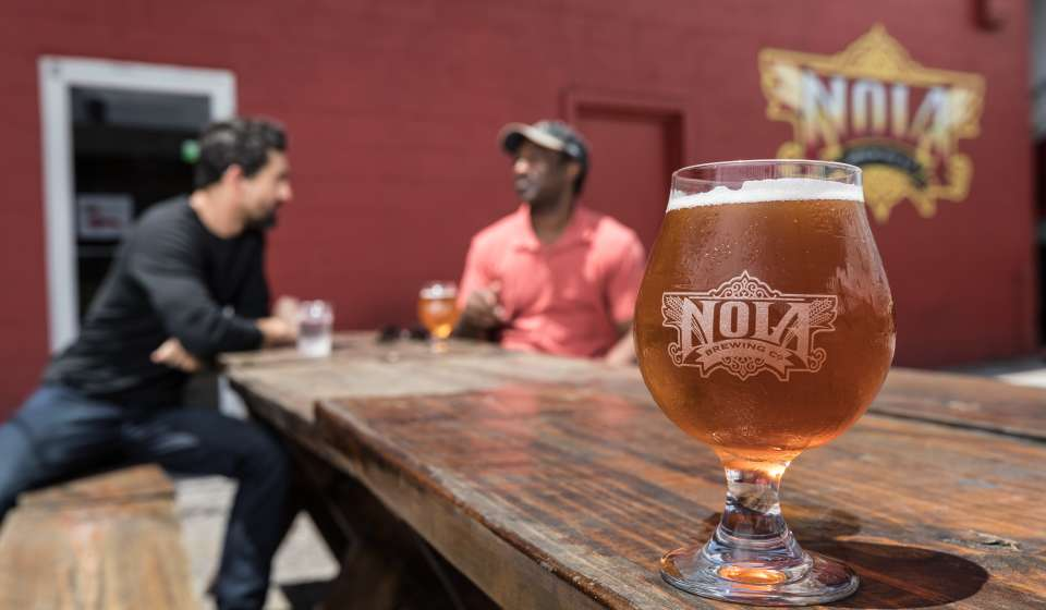 NOLA Brewing Tap Room