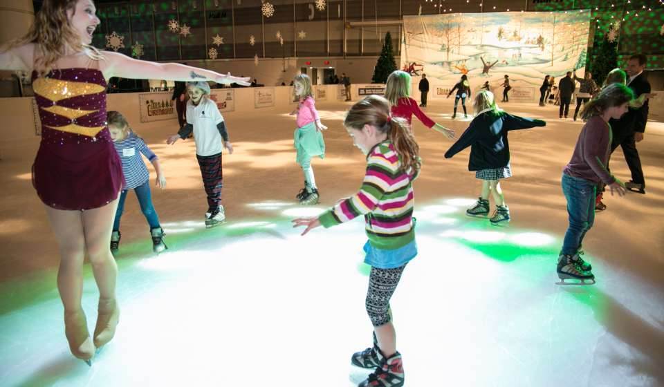 Ice Skating at NOLA Christmas Fest
