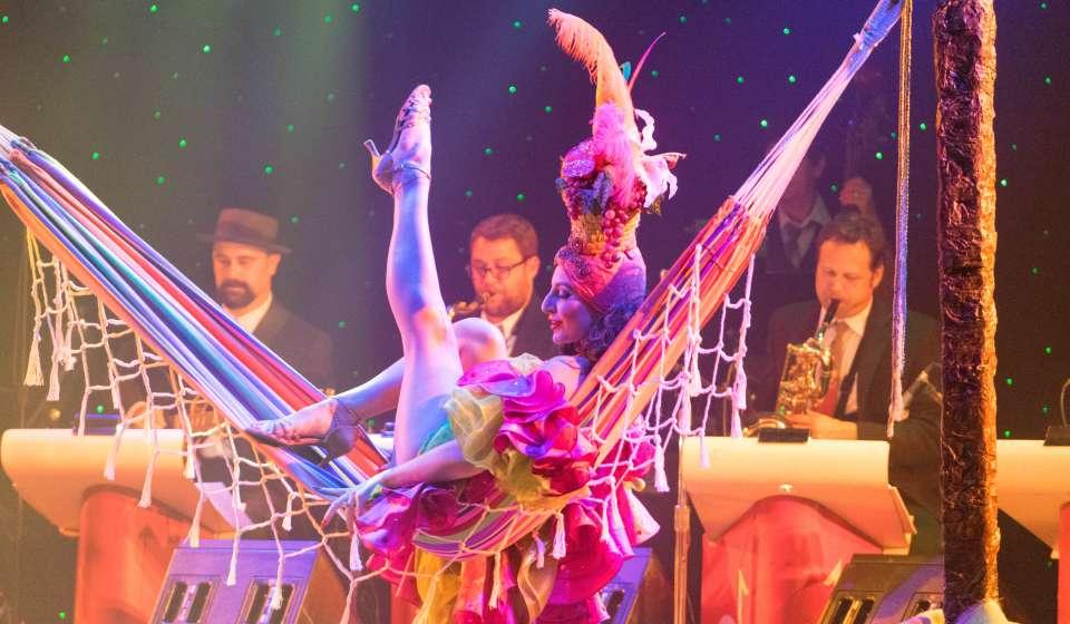 burlesque Fest 2014- queen of Burlesque contest-Athena