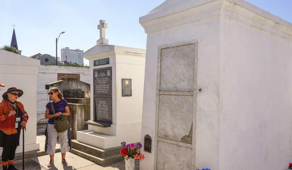 Marie Laveau Tomb - St. Louis Cemetery No. 1