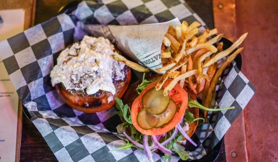 Avenue Pub - St. Charles Avenue - Burger and Fries