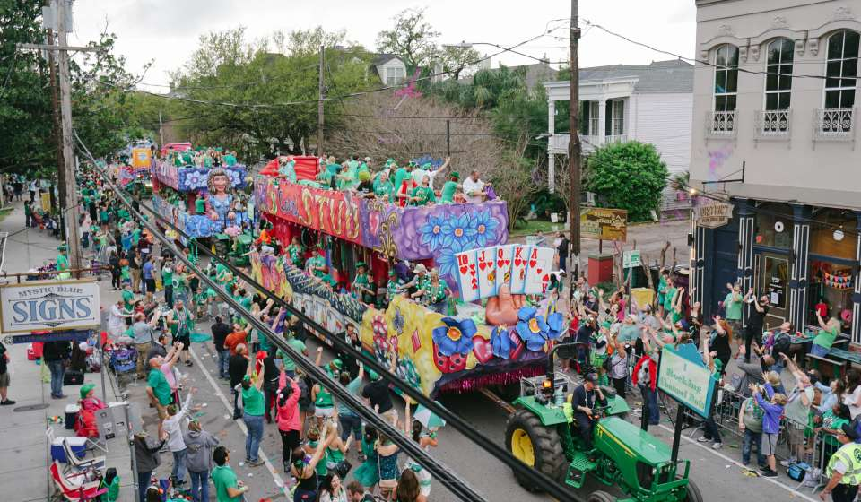 Irish Channel St. Patrick's Parade 2016