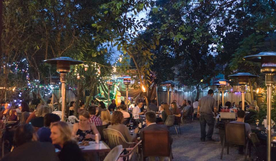 Mark Weliky - Bacchanal Wine Courtyard
