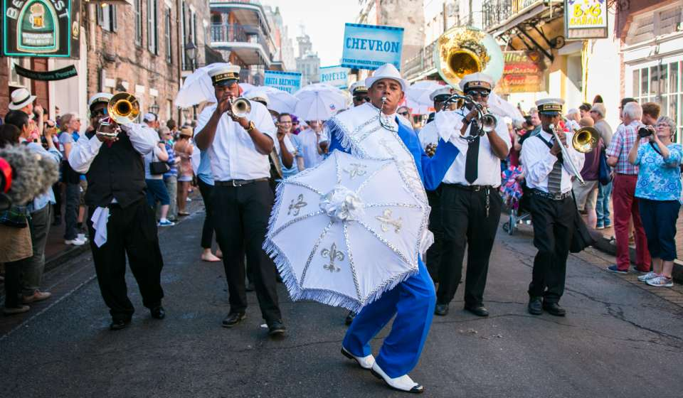 French Quarter Festival Second Line Parade