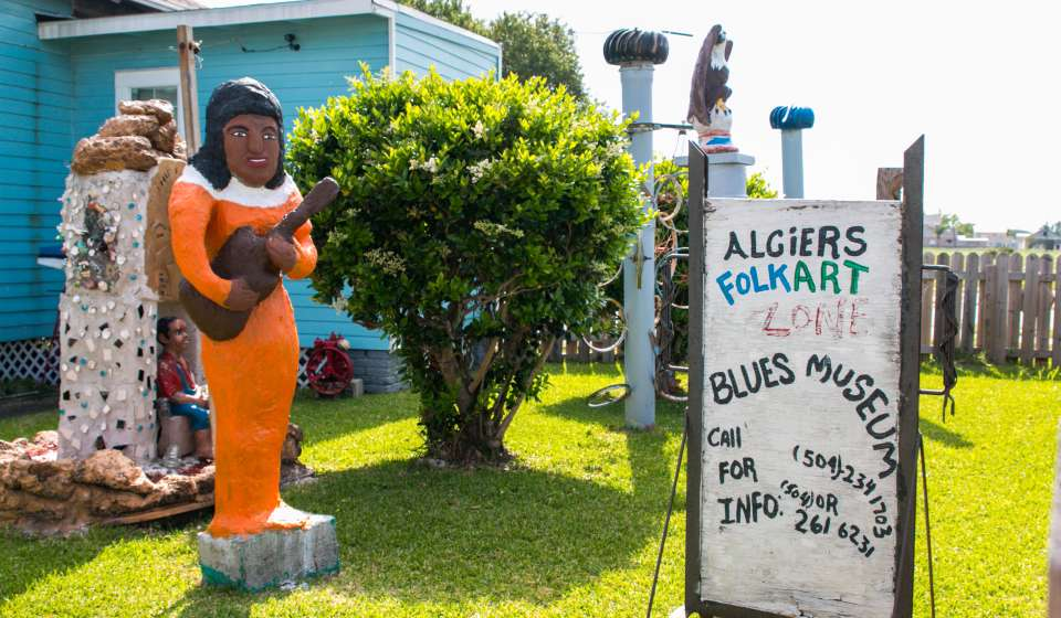 Algiers Folk Art Zone and Blues Museum