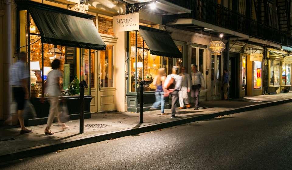 Royal Street at Night