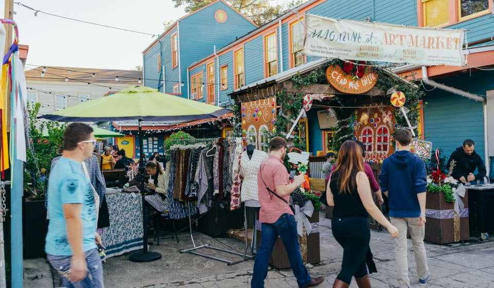 Magazine Street Art Market - Merriment on Magazine Street