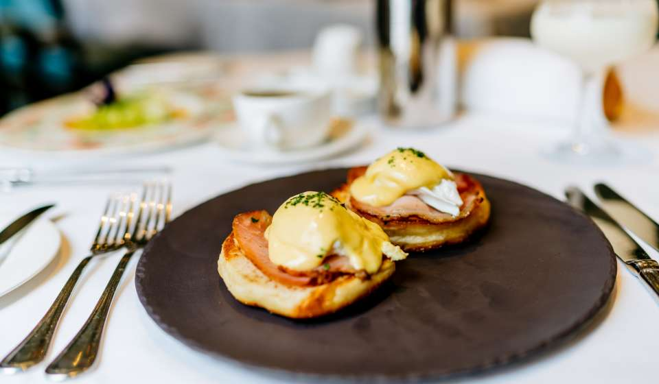 Eggs Benedict - Breakfast at Brennan's Restaurant