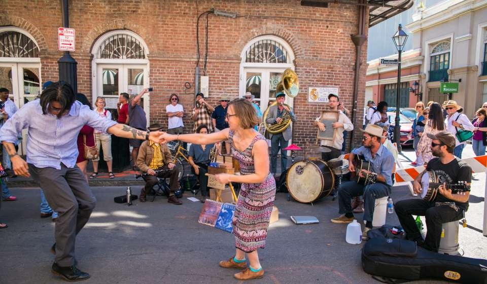 Street Performer- French Quarter Festival