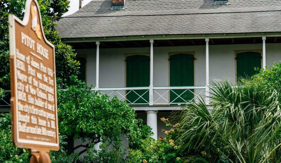 Pitot House - Bayou St. John