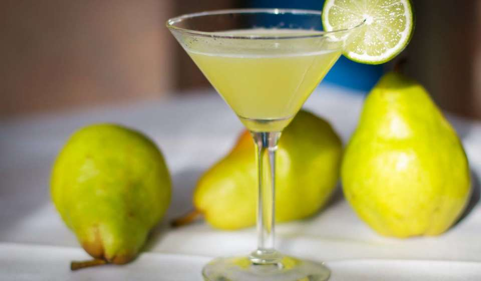 Pear-tini - Upperline Restaurant