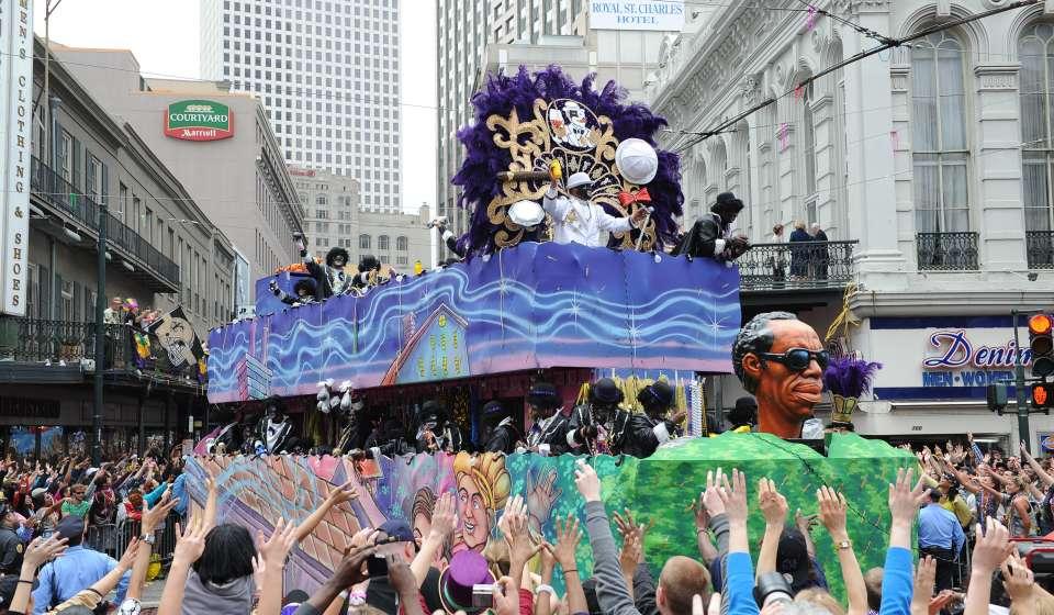 Zulu Mardi Gras Parade