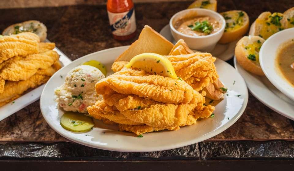 Fried Catfish - Barrow's