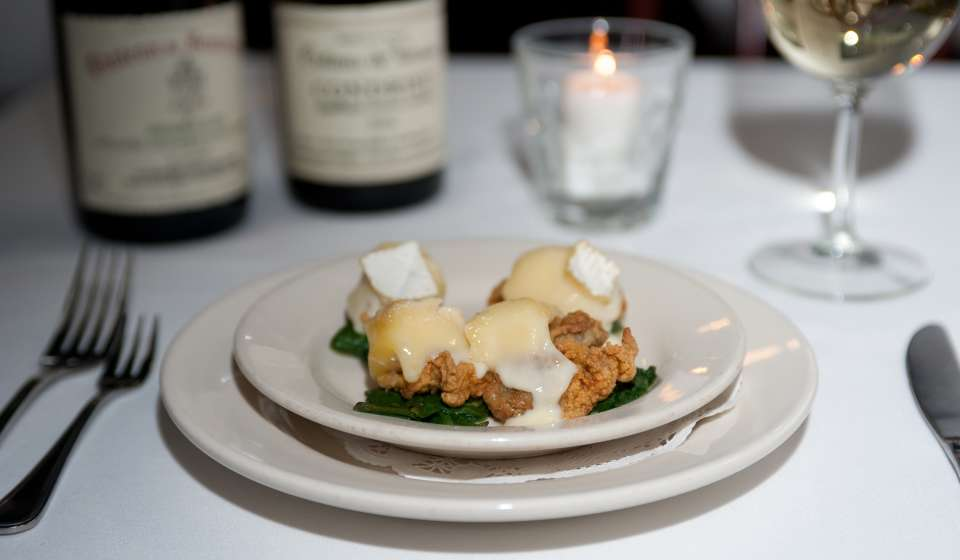Fried Oysters with Brie - Clancy's
