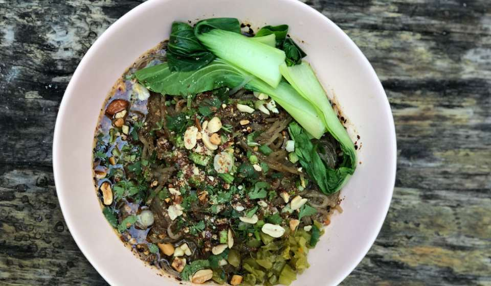 Vegan Dan Dan - Midnight Noodle