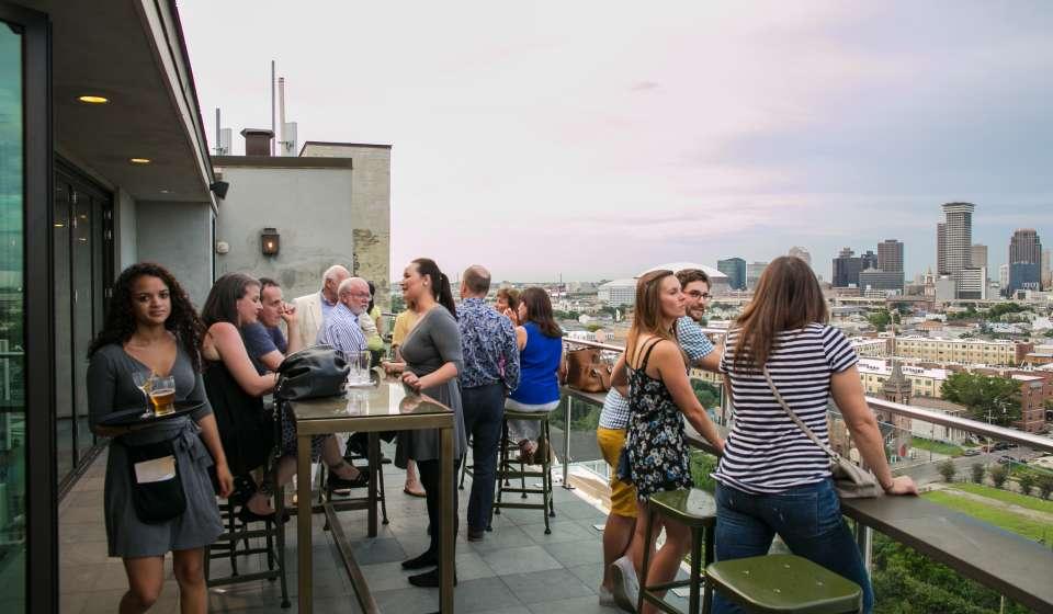 Hot Tin Rooftop Bar