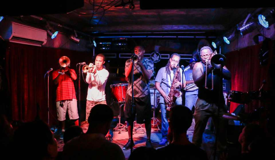Rebirth Brass Band at the Maple Leaf Bar