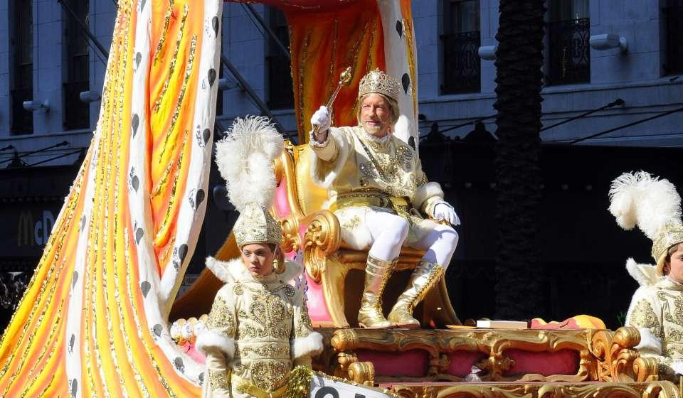 The King of Rex - Mardi Gras Day