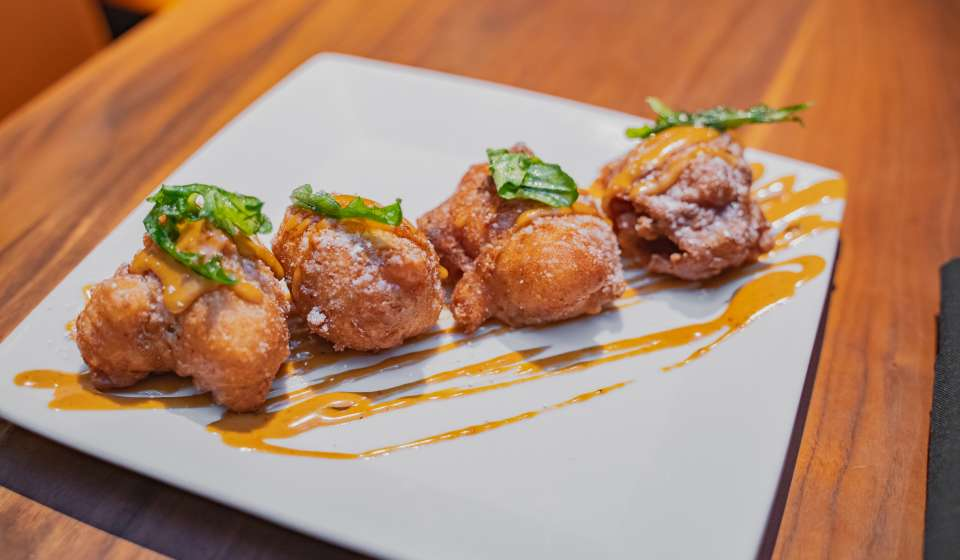 BBQ Shrimp Beignets at SoBou