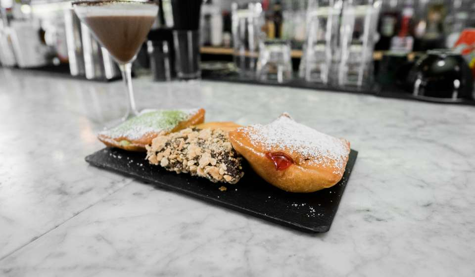 Beignet Flight at the Vintage