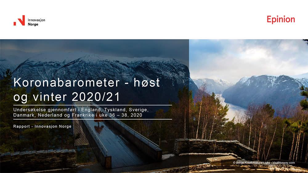 Koronabarometer høst og vinter 2020/21