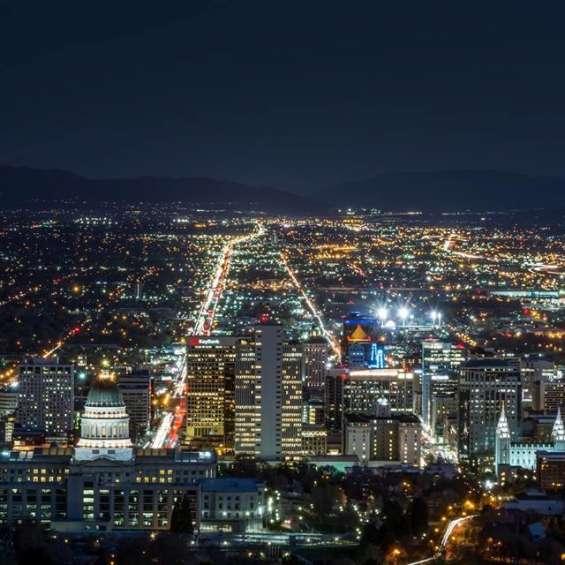 Salt Lake cityscape